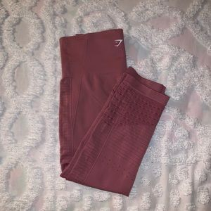 Gymshark Engery Seamless + Crop Legging